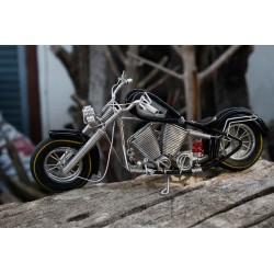 10 Inch Black Wire Motorbike