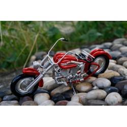 6 Inch Red Wire Motorbike