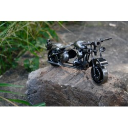 20 cm Scrap Metal Classic Rider Chopper