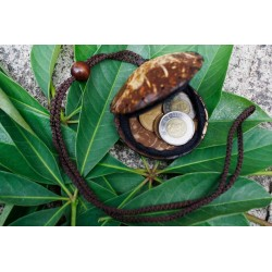 Coconut Shell Change Purse (set of 2)