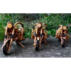 Handmade Wooden Motorbike 11 Inch