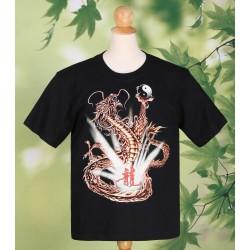 Good Luck Night Shining Dragon T Shirt
