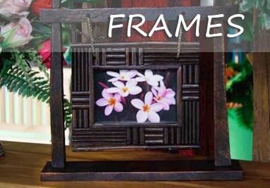Teak Picture Frames