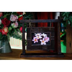 Swinging Teak Picture Frame 4x6 SWPF 018