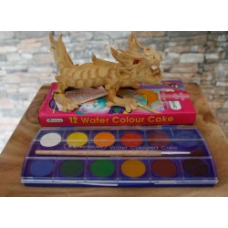 6 Inch Crawling Dragon with Paint Kit