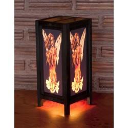 5x11 Ferrie Kneeling Handmade Lamp