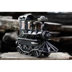 28 cm Scrap Metal Locomotive Train