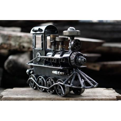 28 cm Scrap Metal Locomotive Train