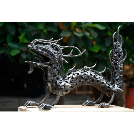 36 cm Scrap Metal Dragon