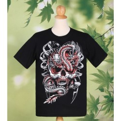 Skull Dragon T Shirt