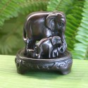 Elephant Family Statuette (small)