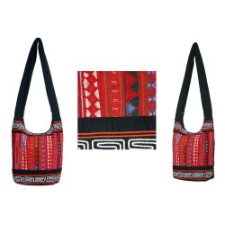 Akha journey shoulder bag