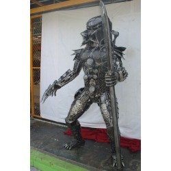 Two Meter High Predator with Spear