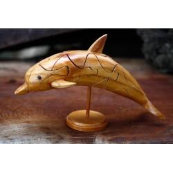 3D Jigsaw Puzzle Dolphin