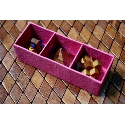 3 Piece Wooden Puzzle Gift Set