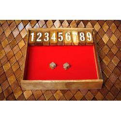 Shut The Box Wooden Game