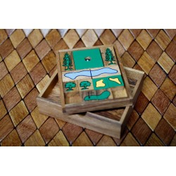 Golf Wooden Game