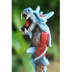 Dragon Blue With Red Pencil (set of 6)