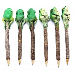 Frog Green Personalized Pencils (set of 6)