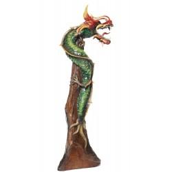 One Meter Teak Dragon OMD 039