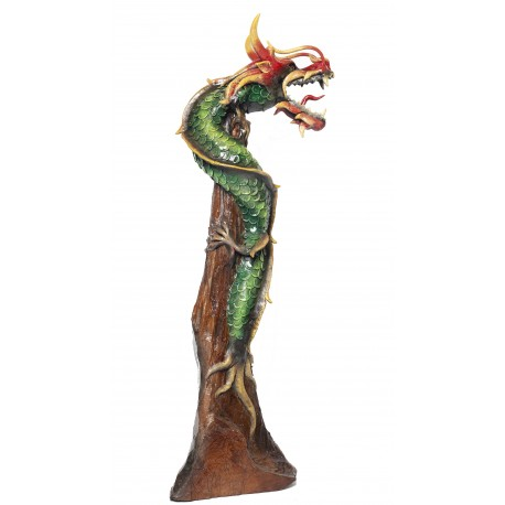 One Meter Teak Dragon OMD 039
