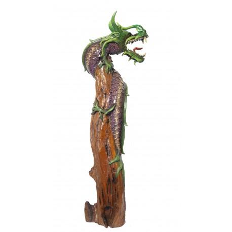One Meter Teak Dragon OMD 078