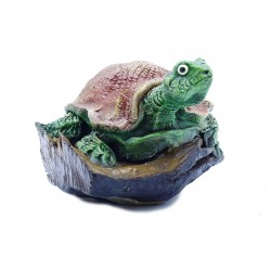 Teak Turtle Reptile Reclaimed Wood Art