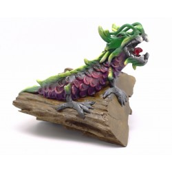 Chinese Teak Root Water Dragon