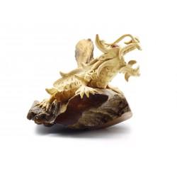 Dragon Teak Exotic Wood Chinese