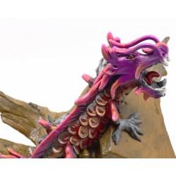 Reclaimed Teak Asian Forest Dragon