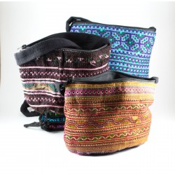 Hmong Hilltribe Traditional Oval Pouch