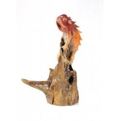 Iguana Rustic Red Burnt Orange
