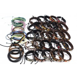 Leather Bands and Bracelets