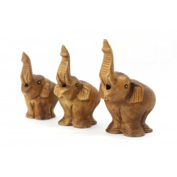 Musical Singing Elephant Statuette 7 Inch
