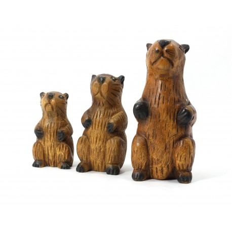 Musical Busy Beaver Statuette 7 Inch
