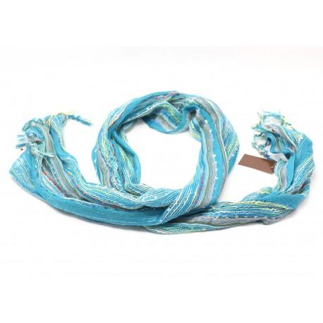 Scarf Electric Blue Fashion