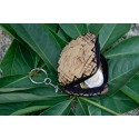 Coconut Shell Key Chain