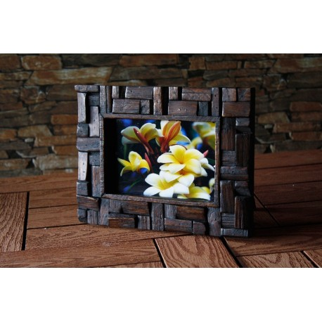 Standing Teak Picture Frame 4x6 STPF 4011