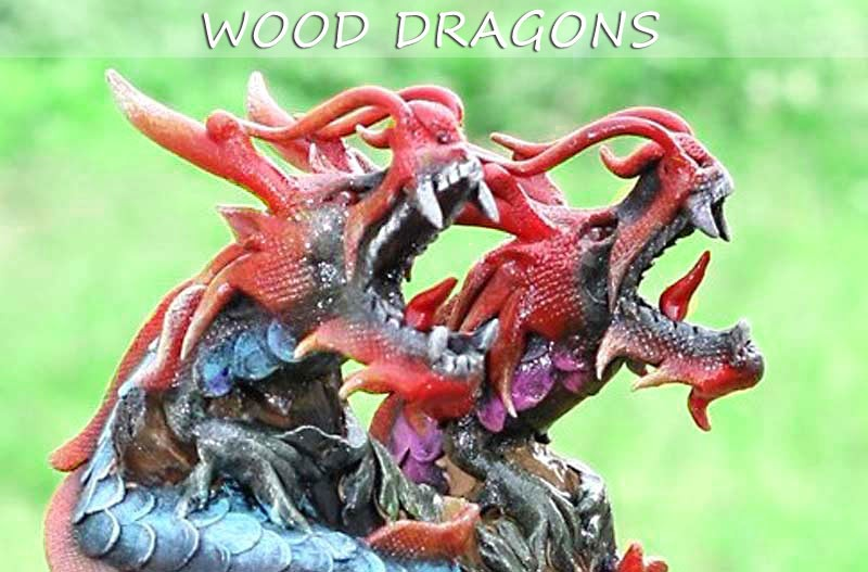 Dragon Sculptures